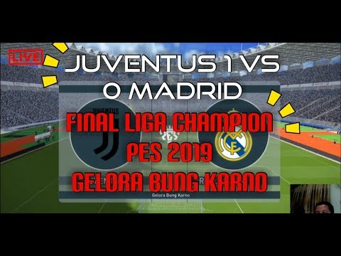 JUVENTUS VS MADRID LIGA CHAMPION 2019!!!!!