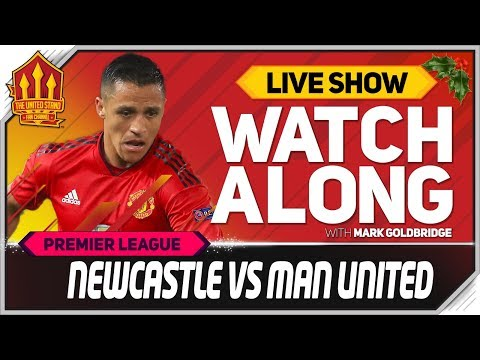 Newcastle United vs Manchester United LIVE Watchalong