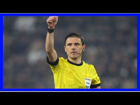 Breaking News | Soccer: Serbian Mazic to referee Champions League final