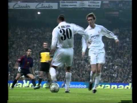 Real Madrid Barcelona: 2-0 temporada 2001/2002.