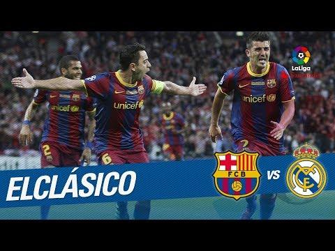 ElClásico – Resumen de FC Barcelona vs Real Madrid (5-0) 2010/2011