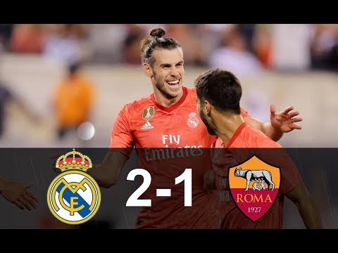 Real Madrid vs Roma 2-1 – All Goals & Highlights 07/08/2018