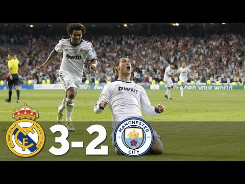 Real Madrid Vs Manchester City 3-2 – All Goals & Extended Highlights HD