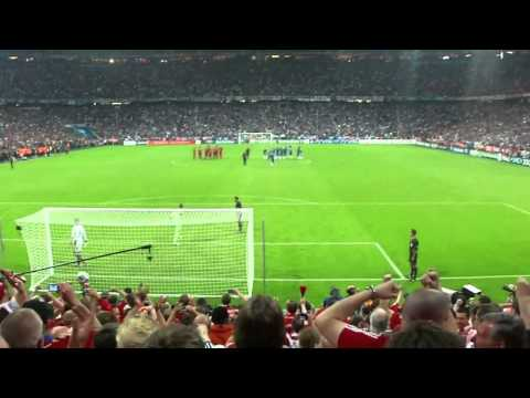 CL final-Bayern end penalty view/reaction