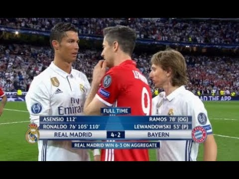 Espn | Real Madrid 4 – 2 Bayern Munich | Fernando Palomo | Champions league Abril 2017