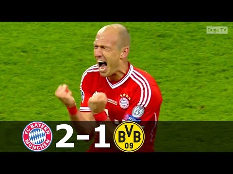 Bayern Munich vs Borussia Dortmund 2-1 – UCL 2013 Final – Highlights (English Commentary)