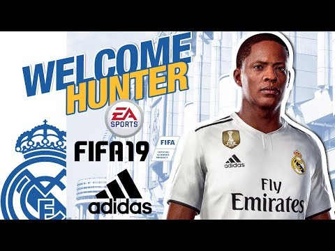 Alex Hunter | NEW REAL MADRID PLAYER | FIFA 19