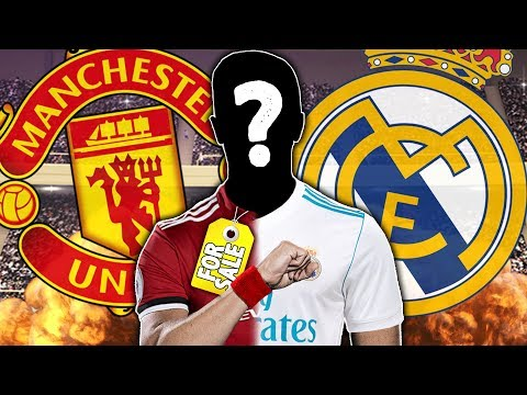 Manchester United and Real Madrid To Battle For €150m World-Class Striker | #SundayVibes