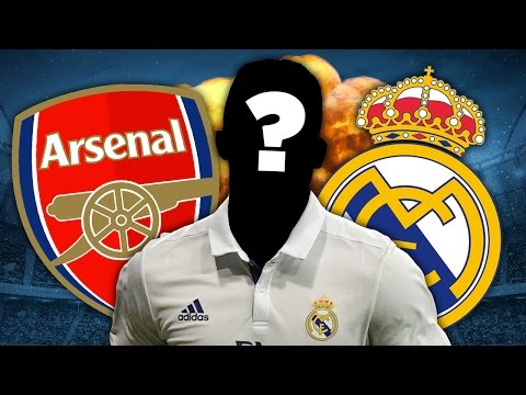 Arsenal To Steal Real Madrid's Future Star Striker?! | Euro Round-Up