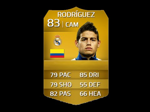 FIFA 14 RODRIGUEZ 83 REAL MADRID Player Review & In Game Stats Ultimate Team