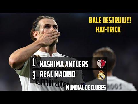 Kashima Antlers 1 x 3 Real Madrid – Gol & Melhores Momentos (1°Tempo) – Mundial de Clubes 2018