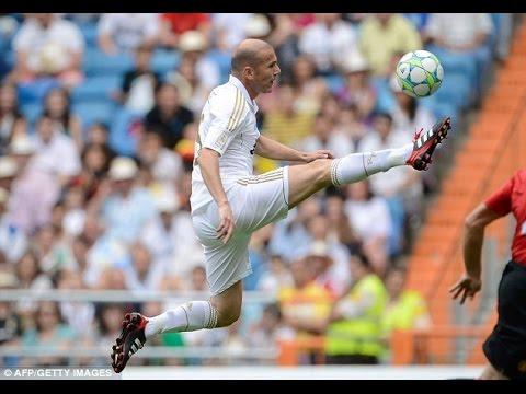 zinedine zidane – The Ball Control Genuis