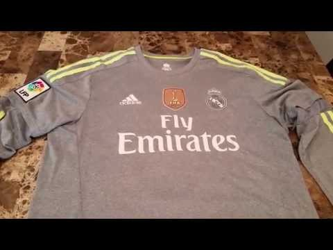 Real Madrid Adidas 2015/16 Ronaldo Away Jersey