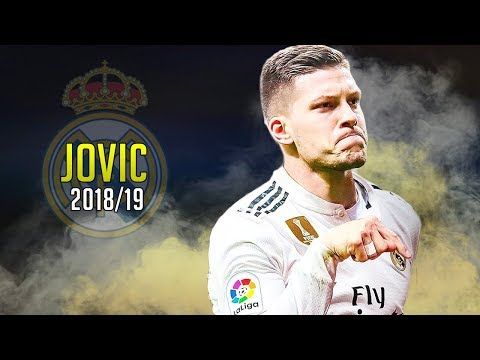 Luka Jovic 2019 ● Welcome to Real Madrid | Skills Show