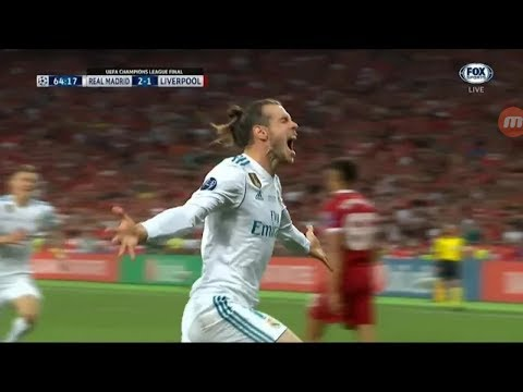 Gareth Bale goal vs Liverpool 2-1 – Real Madrid vs Liverpool