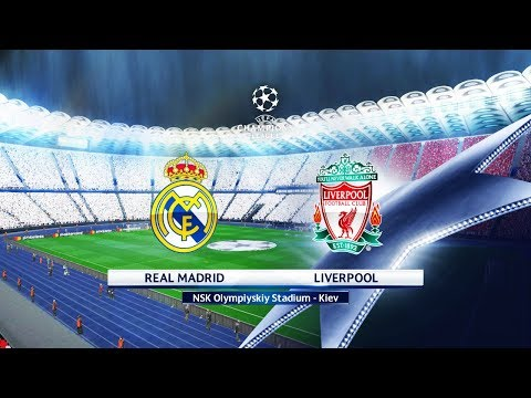 FINAL – Real Madrid vs Liverpool FC – Olimpiyskiy Stadium Kiev – UEFA Champions League 2018 – Pes