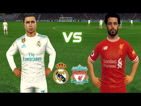 Real Madrid ⚔️ Liverpool ★ Salah & Firmino Hat-Trick ★ Dream League Soccer 2018 Gameplay