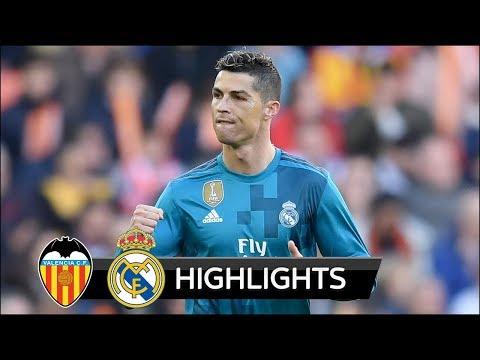 Valencia vs Real Madrid 1-4 – All Goals & Extended Highlights – La Liga 27/01/2018 HD