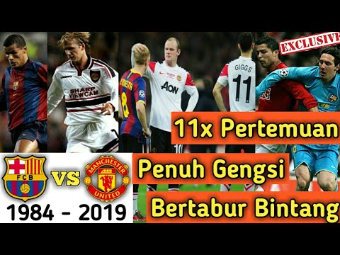 Sejarah Barcelona vs MU di Liga Champions | Head to Head Barcelona vs Manchester United