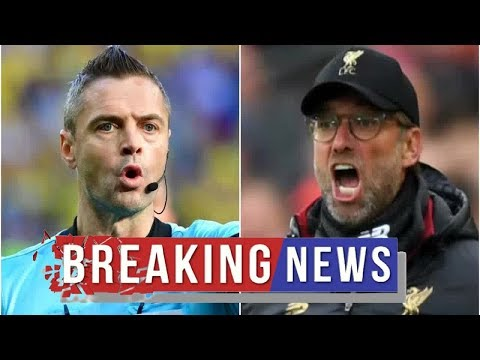 Liverpool news :  Damir Skomina appointed ref for CL final – Liverpool have lost 4/5 with him in cha