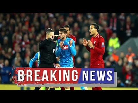 Liverpool news :  Champions League final referee confirmed – and he has previous with Liverpool