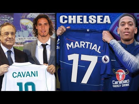 The TRANSFER NEWS Show 2018 ft. Martial to Chelsea | Cavani to Real Madrid | Malcom to Barcelona