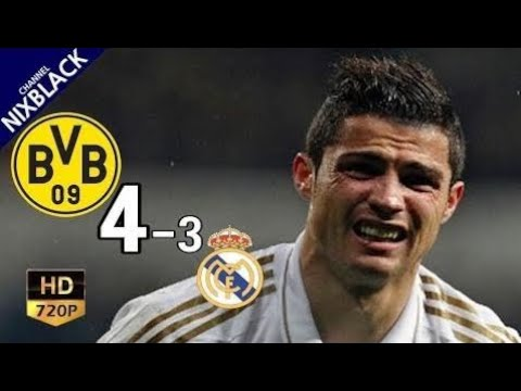 Dortmund 4-3 Real Madrid 2013 UCL Semi Final All Goals & Extended Highlight HD/720P