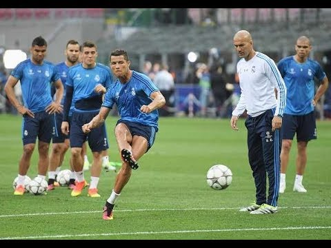 Real Madrid Training Before  the Match with Liverpool – Champions League final in Kiev