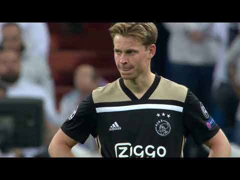 Frenkie de Jong vs Real Madrid (Away) 05/03/2019 | HD