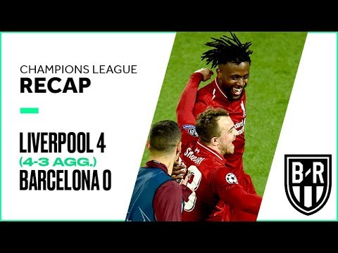 Liverpool vs. Barcelona Champions League Semifinals Leg 2 FULL Match Highlights: 4-0