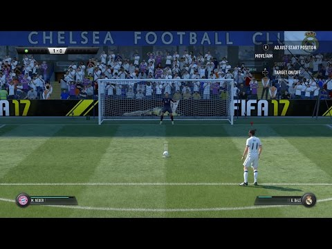 FIFA 17 Bayern München vs Real Madrid Penalty Shootout Gameplay