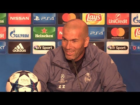 Zinedine Zidane Press Conference – Juventus v Real Madrid – Champions League Final