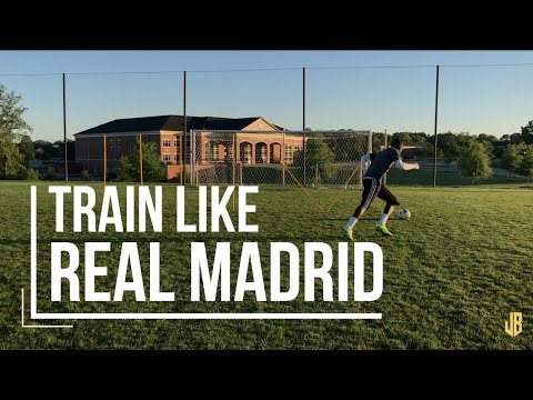 Real Madrid Soccer Drills – Shooting and Speed Training Like Ronaldo and Bale!