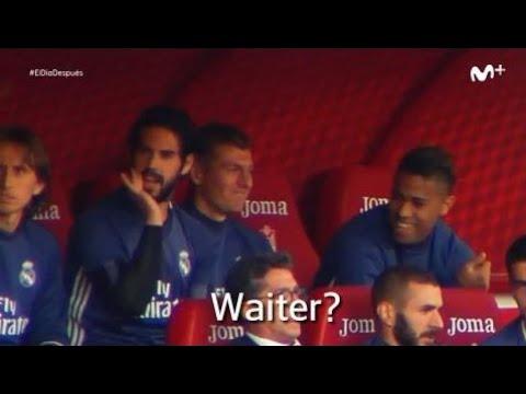 Real Madrid's Isco mocks Granada's manager!!!