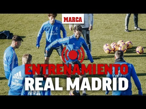 Entrenamiento del Real Madrid I MARCA