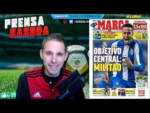 EDER MILITAO OBJETIVO DEL REAL MADRID según MARCA + TODIBO FICHA POR EL BARÇA #PRENSABASURA