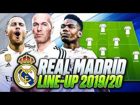 OMG! REAL MADRID LINEUP 2019-2020 with ZIDANE | w/ TRANSFERS POGBA NEYMAR MBAPPE & HAZARD💰| FIFA 20