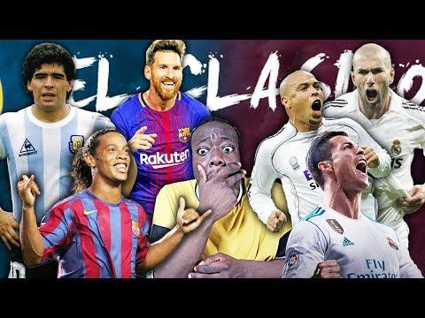 EL MEJOR 11 DE LA HISTORIA DEL F.C. BARCELONA VS REAL MADRID