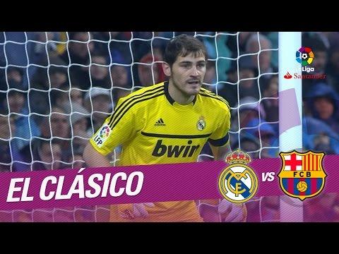 El Clásico – Resumen de Real Madrid vs FC Barcelona (1-3) 2011/2012