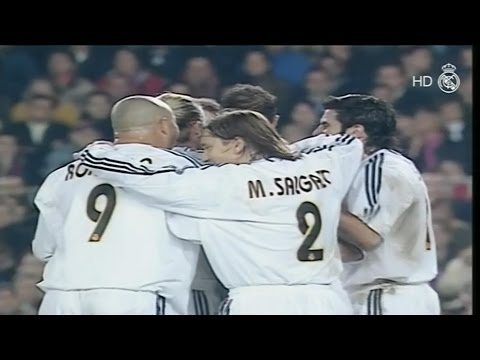 real madrid vs barcelona 2-1 2003/2004 full highlights