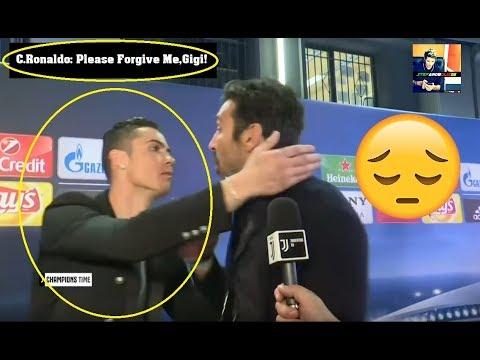 Cristiano Ronaldo Hugs and Pays Respect To Buffon ⚽ Real Madrid – Juventus 1-3 ⚽ 2018 HD #Buffon#CR7