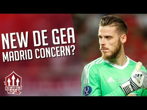 DE GEA drops Real Madrid Hint? Manchester United Transfer News