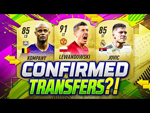 FIFA 20 NEW CONFIRMED TRANSFERS SUMMER 2019 & RUMOURS | w/ KOMPANY JOVIC COUTINHO & LEWANDOWSKI🔥