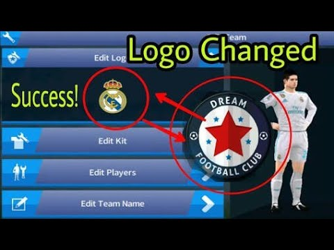 Dream league soccer 18 Real madrid logo ,kit
