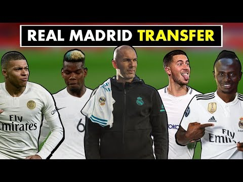 Top 10 Real Madrid Transfer Targets Under Zinedine Zidane