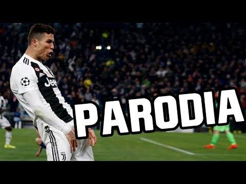 Cristiano canta Canción Juventus vs Atletico Madrid 2019 (Parodia Calma Remix – Pedro Capó, Farruko)