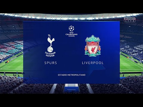Tottenham vs Liverpool | UEFA Champions League Final 2019 | FIFA 19 Full Match & Gameplay