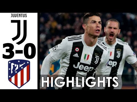 Juventus vs Atletico Madrid 3-0 All Goals and Highlights w/ English Commentary (UCL) 2018-19 HD 720p