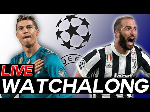 REAL MADRID vs JUVENTUS Live WATCHALONG Stream Champions League Quarter-Finals Leg 2