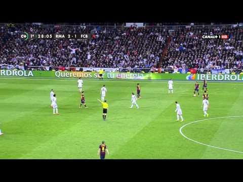 La Liga – Real Madrid vs Barcelona 3 – 4 / 1er Tiempo [23-03-2014]